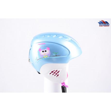 lyžiarska/snowboardová helma ALPINA CARAT blue/white, nastaviteľná