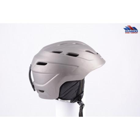 lyžiarska/snowboardová helma GIRO NINE.10 grey, FOUNDATION, nastaviteľná ( TOP stav )