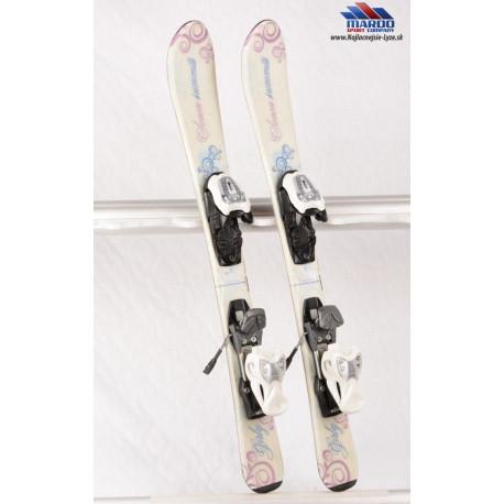detské/juniorské lyže DYNAFIT SEVEN SUMMITS GIRLY white + Marker 4.5 ( TOP stav )