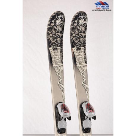detské/juniorské lyže K2 JUVY GREY, FREESTYLE + Marker 7.0