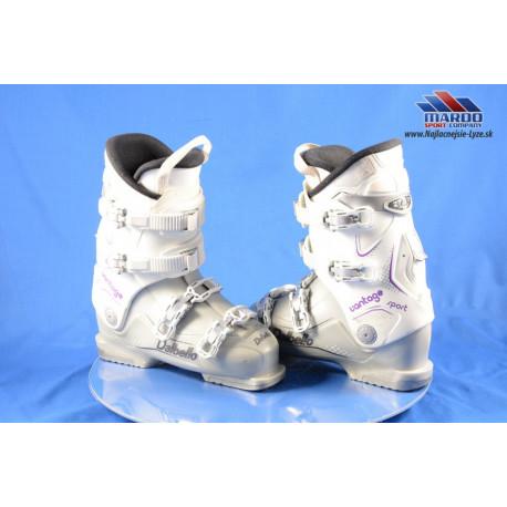 dámske lyžiarky DALBELLO VANTAGE SPORT, GREY/purple, SKI/WALK, RATCHET buckle ( TOP stav )