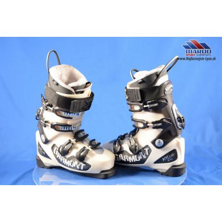 skialpinistické lyžiarky GARMONT ASYLUM FR 120 pearl, MAGNESIUM SKI/WALK, CANTING, FREX adj., WATER resist ( NOVÉ )
