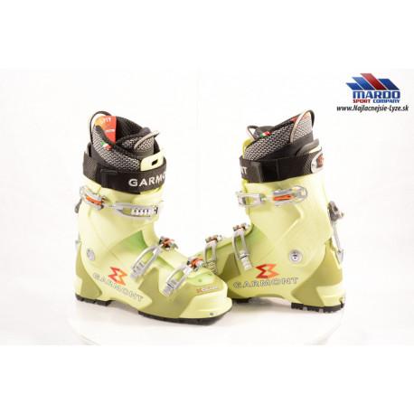 skialpinistické lyžiarky GARMONT HELIUM G-FIT, ANTIBACTERIAL, SILVERTHREAD, CANTING, SKI/WALK, TLT system (NOVE)