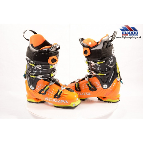 skialpinistické lyžiarky SCARPA FREEDOM RS, CARBON CORE, SKI/WALK, CANTING, VIBRAM, FLEX 130, TEC binding ( NOVÉ )