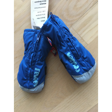 children's ski gloves REUSCH BENJAMIN, R-LOFT, BLUE ( NEW )