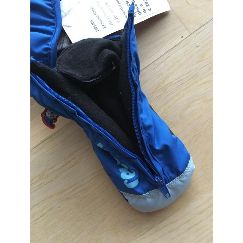 detské lyžiarske rukavice REUSCH BENJAMIN, R-LOFT, BLUE ( NOVÉ )