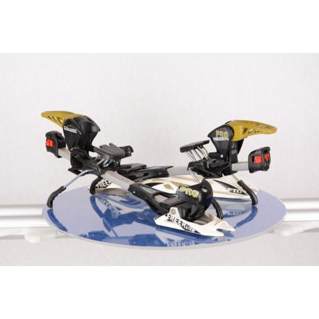 ski touring binding FRITSCHI DIAMIR FREERIDE PRO, DIN 12, WHITE/black, size S-M 280-310mm - without plate