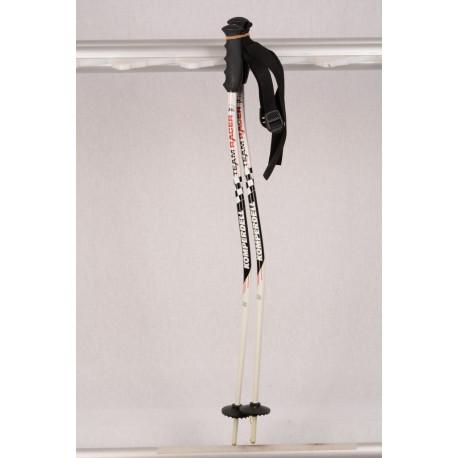 new children's ski poles KOMPERDELL RACER GS white/black ( NEW )
