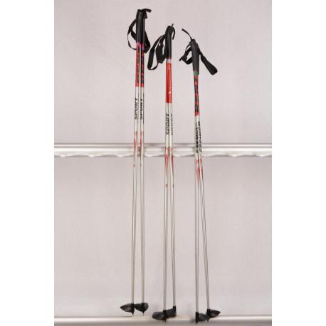 bežecké palice STEINER sport SILVER/RED