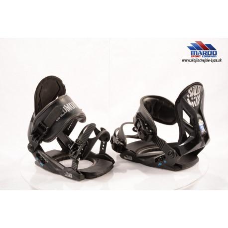detske snowboardove viazanie SALOMON PIQ black; vel.: XS,S