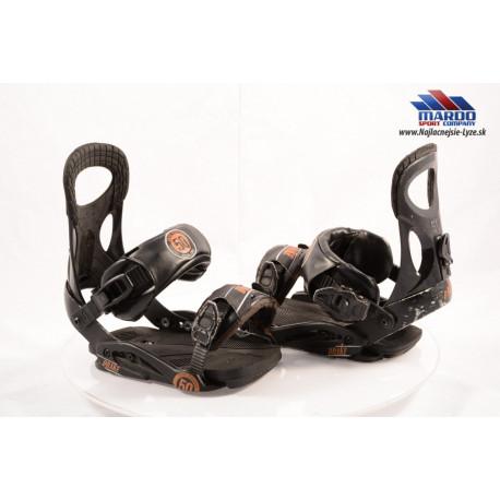 snowboardove viazanie DRAKE FIFTY black/brown; vel: L,XL