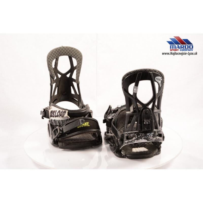 snowboardové viazanie DRAKE RELOAD BLACK, size L, XL