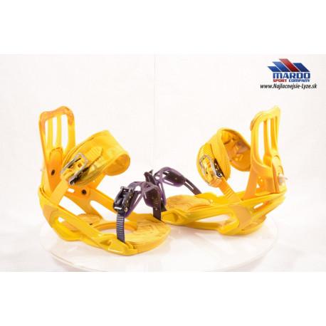 snowboardove viazanie SALOMON yellow; vel: M,L