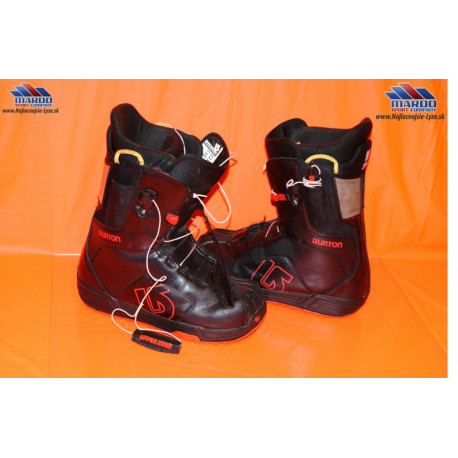 snowboardove topanky BURTON progression 52 leather black