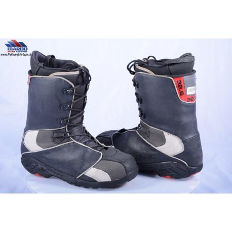 snowboardove topanky ATOMIC AIA, BLACK/grey