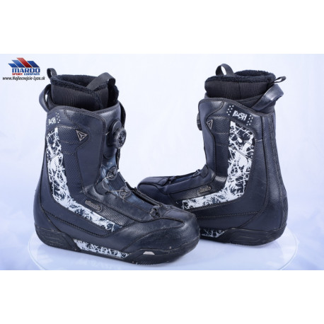 snowboardove topanky ATOMIC KUSH, BOA technology, COILER system, BLACK/grey