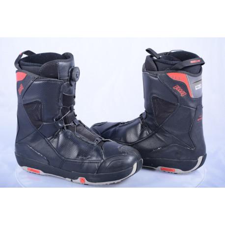 snowboardové topánky ATOMIC PIQ BOA, easy fit, R coiler BOA technology, BLACK