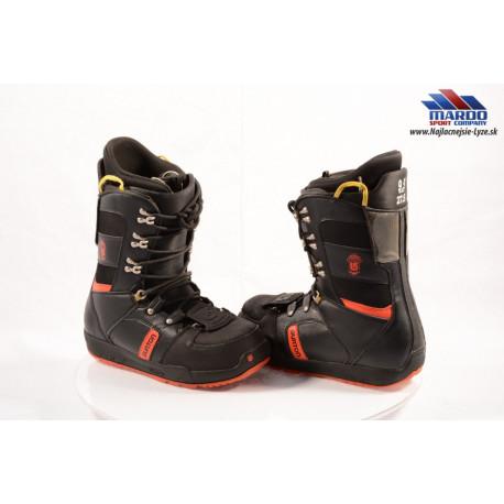 snowboardové topánky BURTON MENs PROGRESSION black/red, 2017